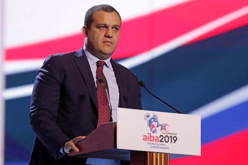 Генеральный секретарь Федерации бокса России Умар Кремлев. Фото: Донат Сорокин/ТАСС