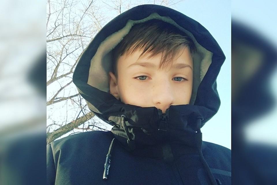 Кирилл Клименко учится в 8-В классе 44-й донецкой школы. Фото: архив героя публикации