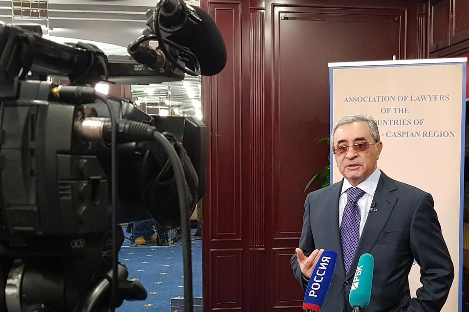 Президент Ассоциации юристов стран Черноморского-Каспийского региона Ильгам Рагимов.