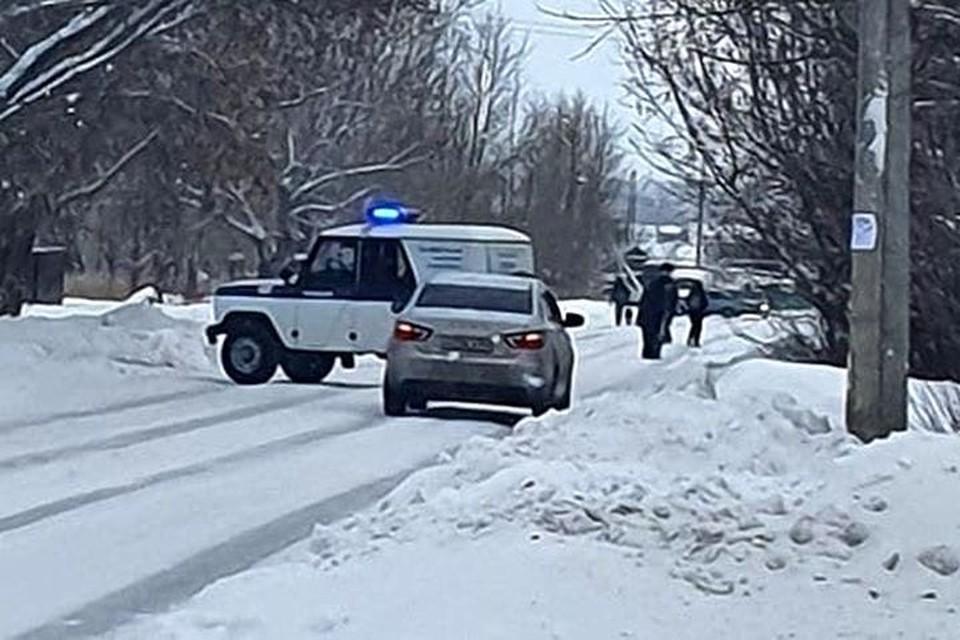 Авария произошла в поселке Чик. Фото: «Инцидент Новосибирск».