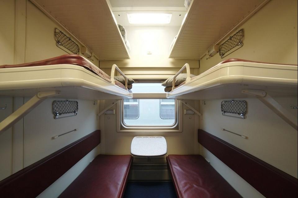 Бесплатные билеты предоставят в спальные и купейные вагоны. Фото: Гранд Сервис Экспресс