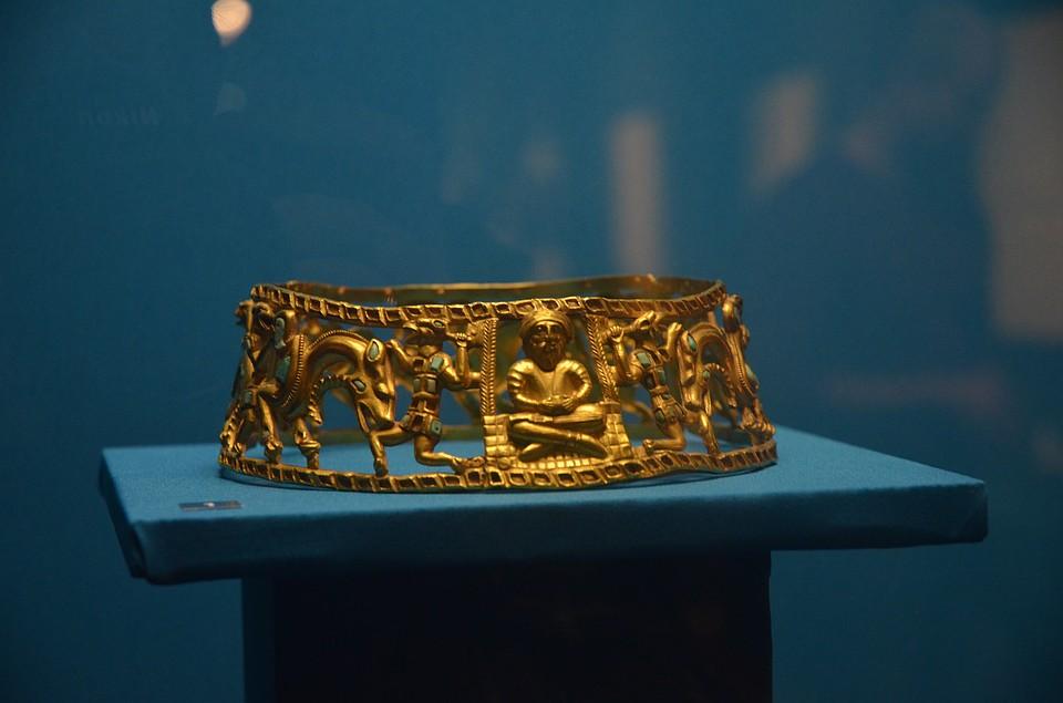 Во Владимире открылась выставка золота скифов из ростовского музея