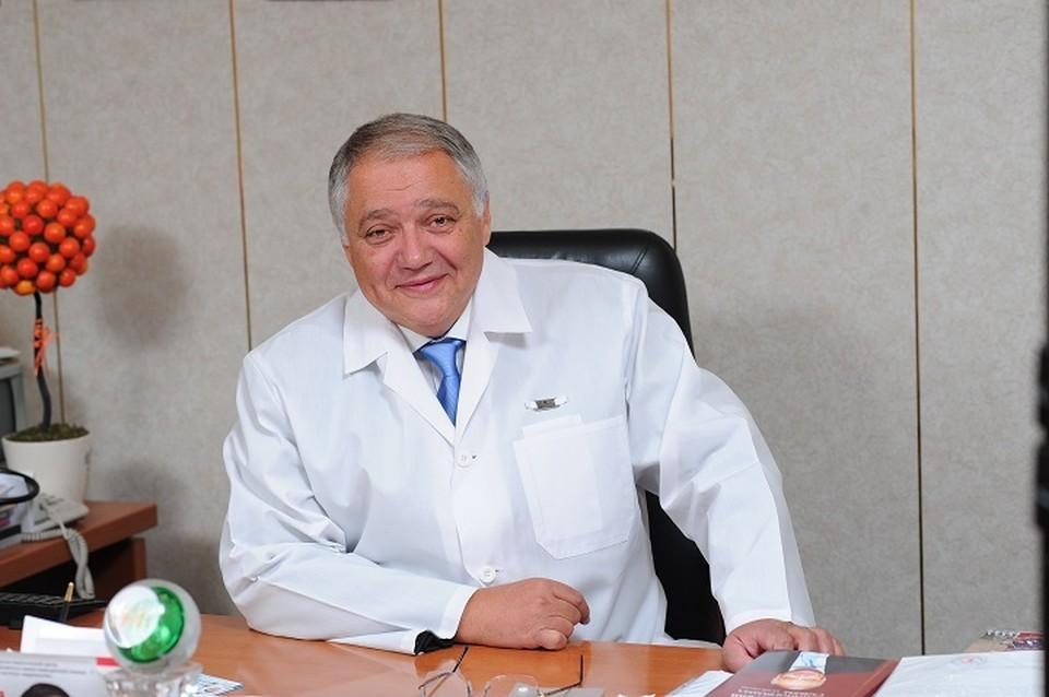 Ян Габинский. Фото: пресс-служба Уральского института кардиологии