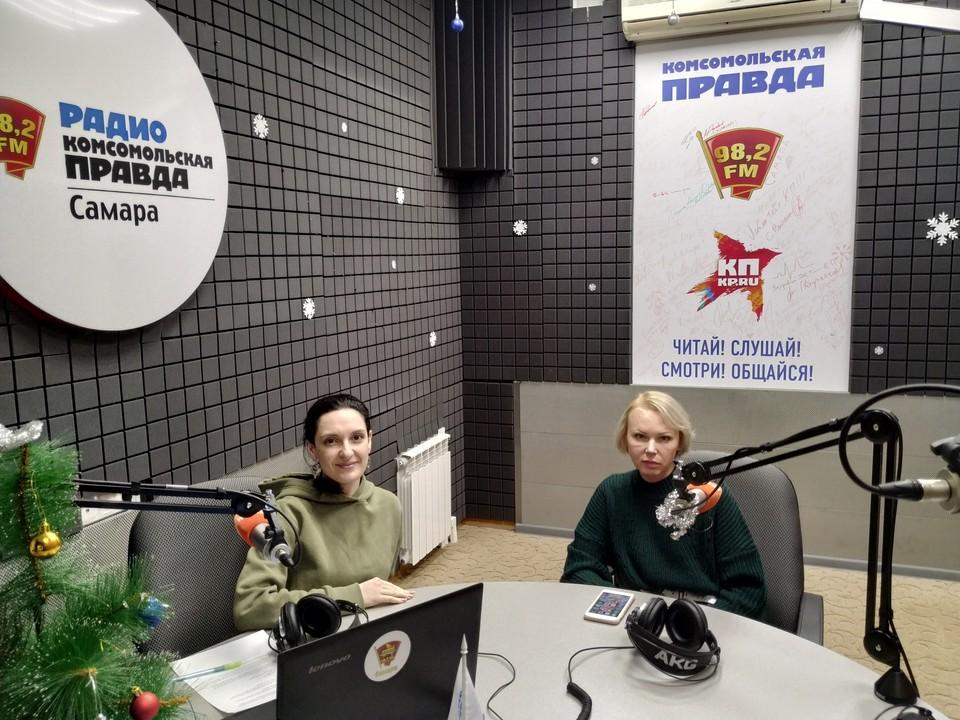 """В гостях руководитель благотворительного фонда """"ЕВИТА"""" Ольга Шелест"""
