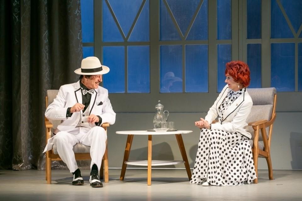 Михаил Боярский отметил 70-летие в родном театре. Фото: Предоставлены театром имени Ленсовета