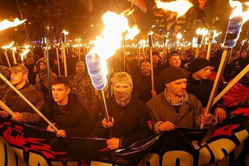 В Германии осуждают акцию украинских неонацистов 1 января