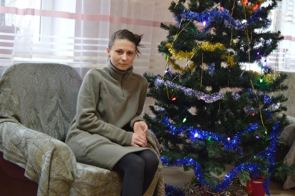Дарья Новый год встретила в одной из больниц столицы ДНР