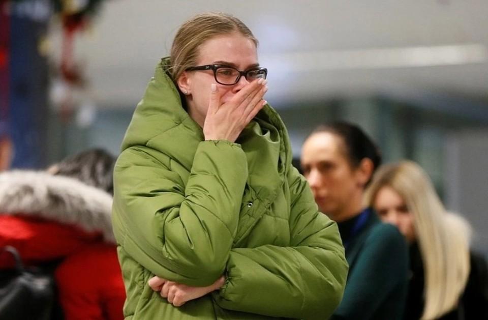 В киевском аэропорту «Борисполь» траур. Фото: REUTERS