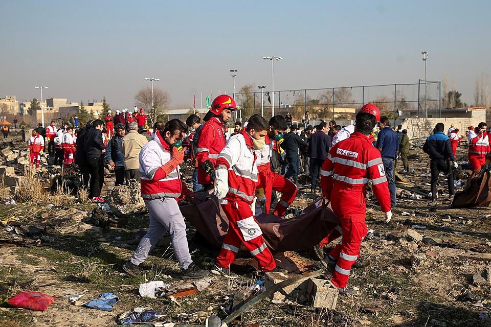 Жертвами авиакатастрофы в Тегеране стали 176 человек