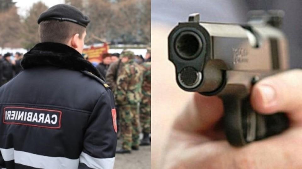 24-летний молодой человек умер по дороге в больницу после того как в него стрелял офицер Генерального инспектората карабинеров