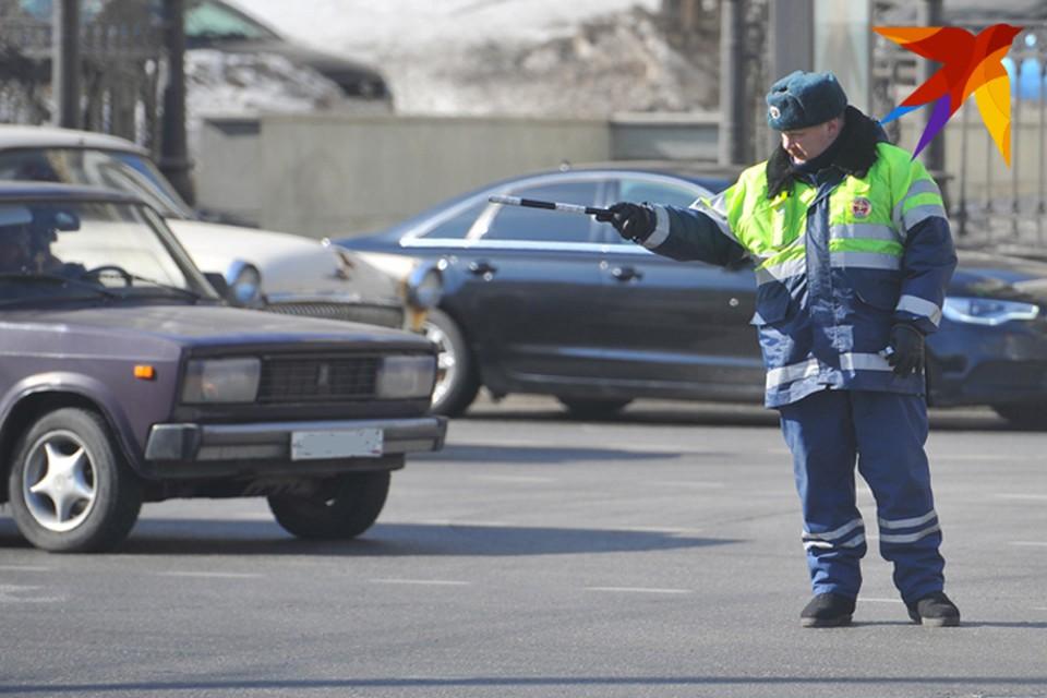 За день инспекторы ДПС пресекли около 180 нарушений Правил дорожного движения в Брянске.