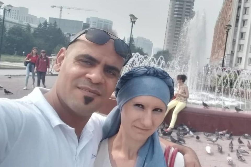 Фати и Лиля в Новосибирске. Фото: личный архив героев публикации.