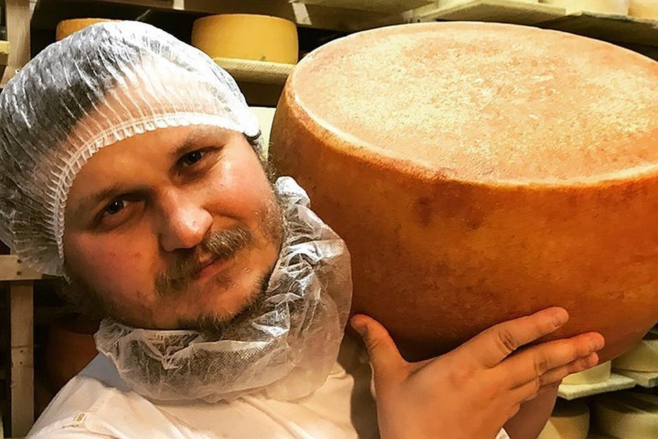 Известный сыровар Олег Сирота