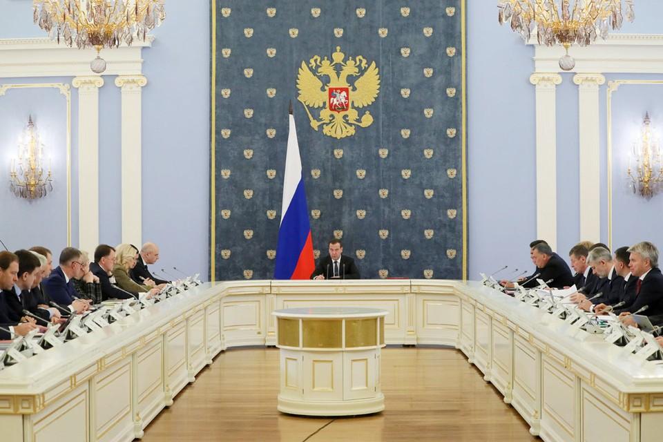 Правительство Медведева стало символом застоя и победившей рутины. Фото: Екатерина Штукина/ТАСС