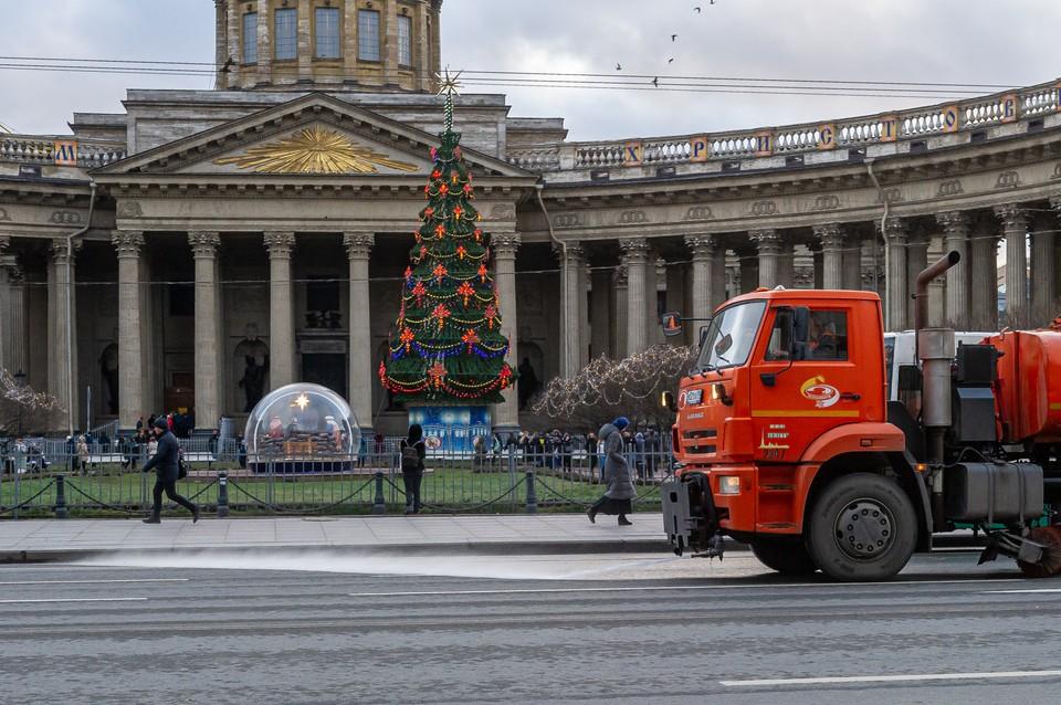 В Петербурге 140 лет не было такой бесснежной зимы.