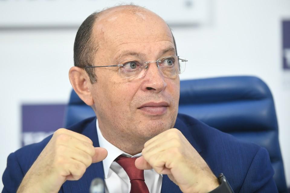 Президент РПЛ Сергей Прядкин переизбран на своём посту. Фото: Максим Григорьев/ТАСС