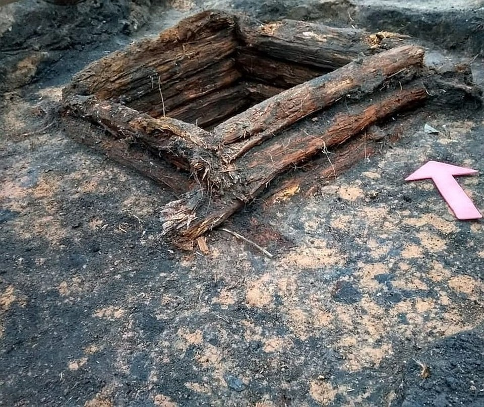 Фото: предварительно найденный колодец датировали XVI веком, но специалисты еще уточняют дату.