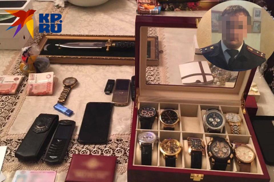В квартире у Савсела нашли дорогие часы и деньги