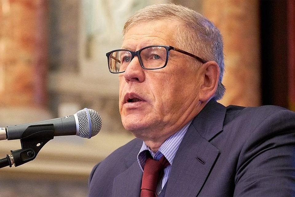 Главный редактор «Комсомольской правды» Владимир Сунгоркин.