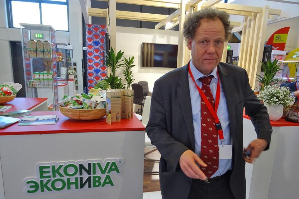 Президент одного из крупнейшего российского переработчика молока Штефан Дюрр