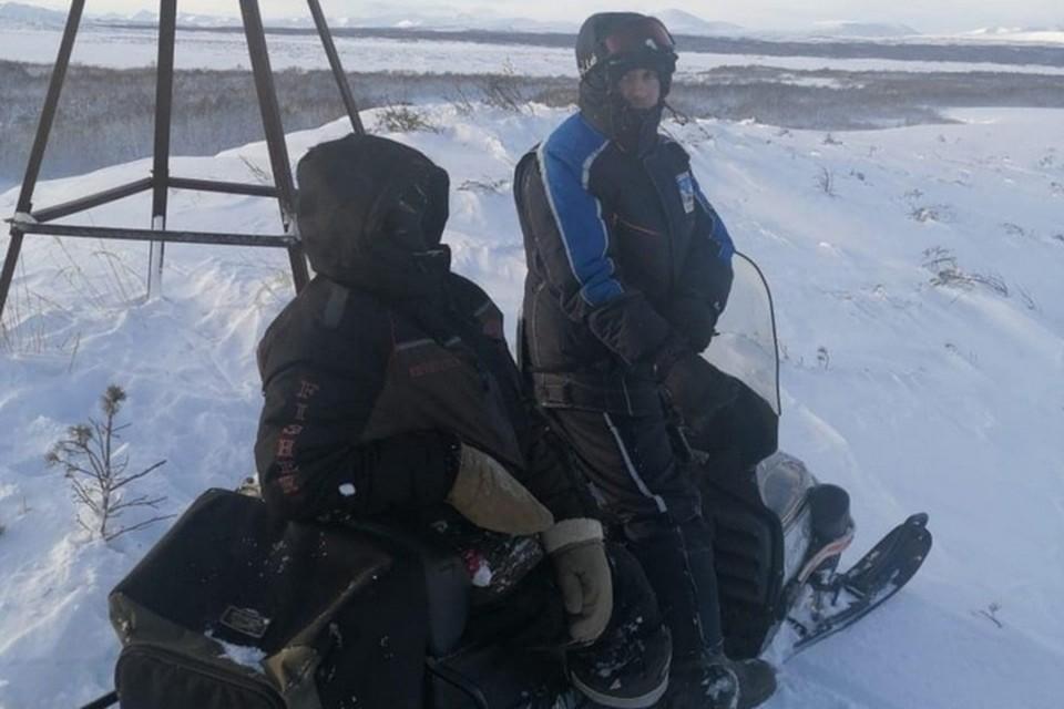 По результатам обследования, у мужчины легкая степень обморожения кистей и стоп. Фото: ГУ МЧС РФ по Камчатскому краю