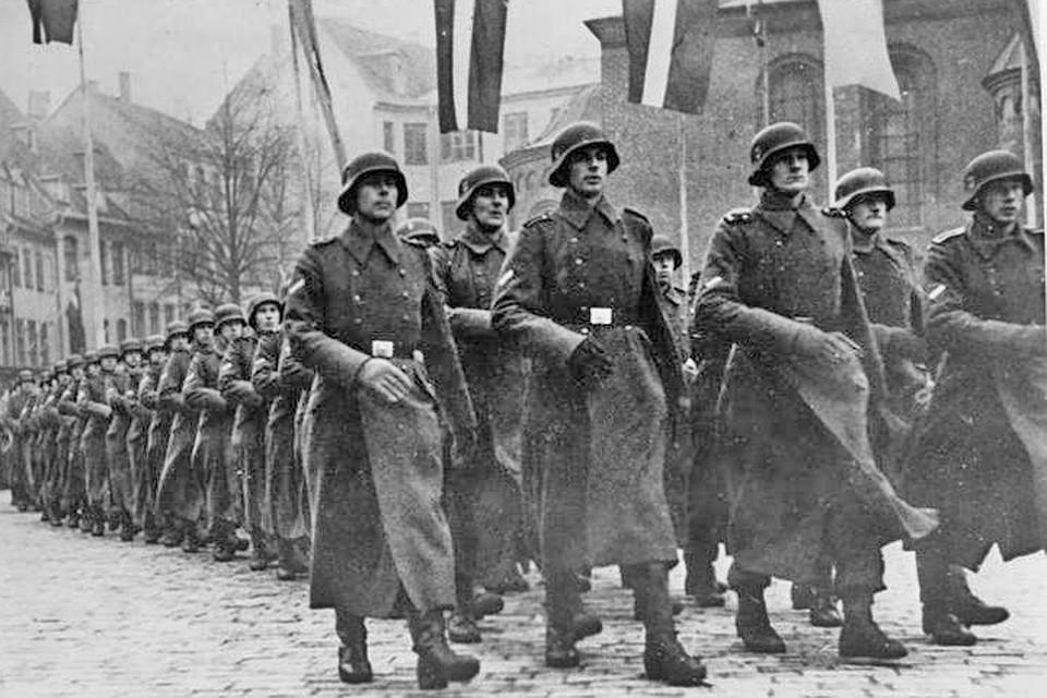 Латышская дивизия добровольцев СС, Рига, 1943 г.