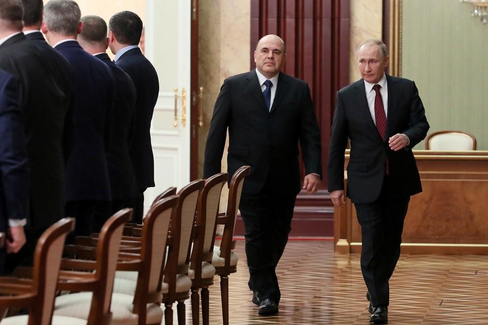 Новое правительство во главе с премьером Михаилом Мишустиным стало одним из самых молодых в истории современной России