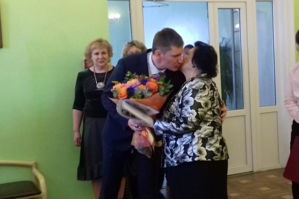 Став губернатором Пермского края Максим Решетников пришел в свою школу в гости. Фото предоставлено гимназией № 17.