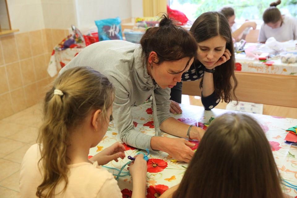 Волонтеры в Российской детской клинической больнице Фото: архив движения «Даниловцы»