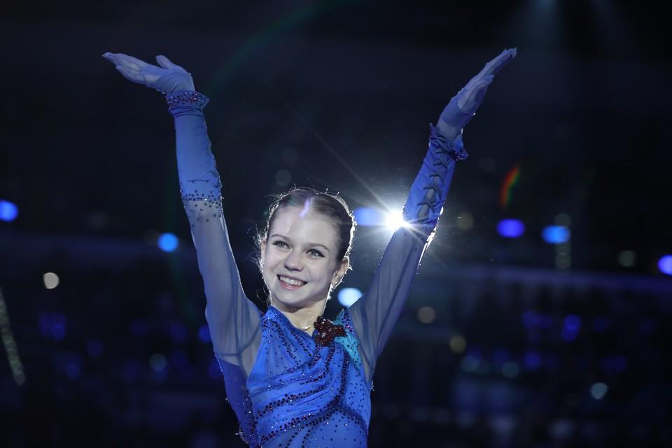 Александра Трусова пока что идет на третьем месте после короткой программы ЧЕ-2020.