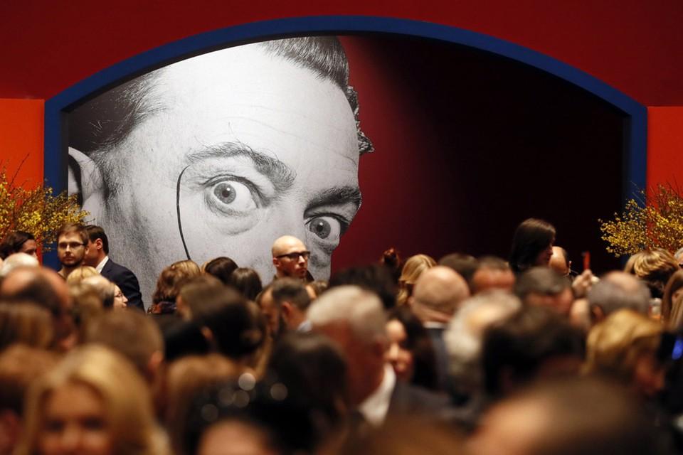 С 28 января по 25 марта в Центральном выставочном зале «Манеж» проходит выставка «Сальвадор Дали. Магическое искусство». Фото: MAXIM SHIPENKOV/ТАСС