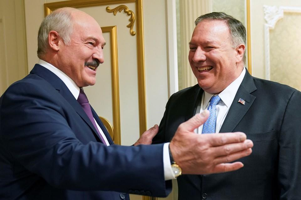 Президент Лукашенко поблагодарил Помпео за визит в Мнск.