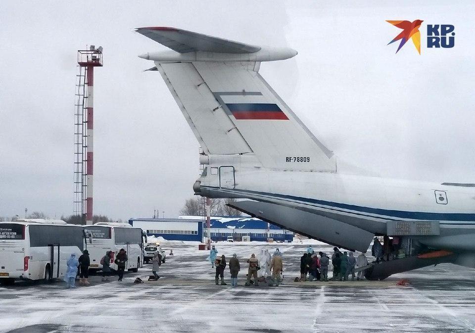 5 февраля два самолёта ВКС России эвакуировали в Тюменскую область всех пожелавших уехать из Уханя россиян