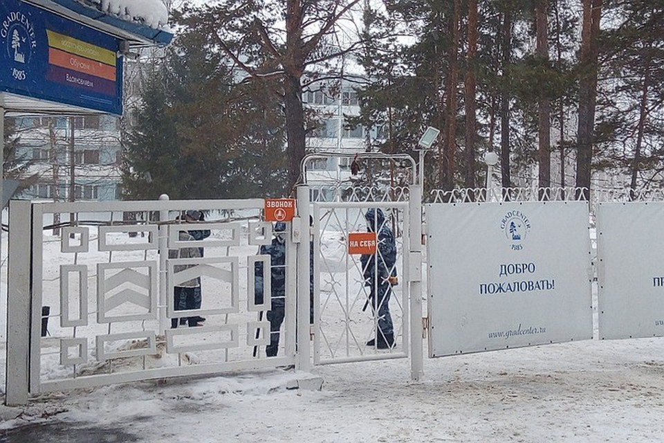 """Вот так выглядит санаторий """"Градостроитель"""", куда отправили россиян на двухнедельный карантин."""