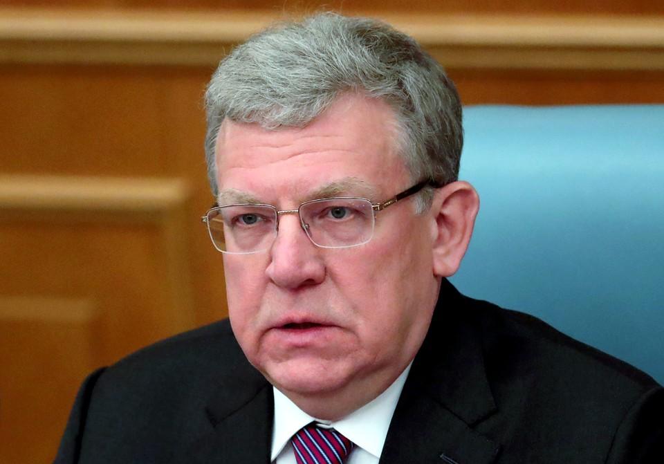 Председатель Счетной палаты РФ Алексей Кудрин. Фото: Владимир Гердо/ТАСС
