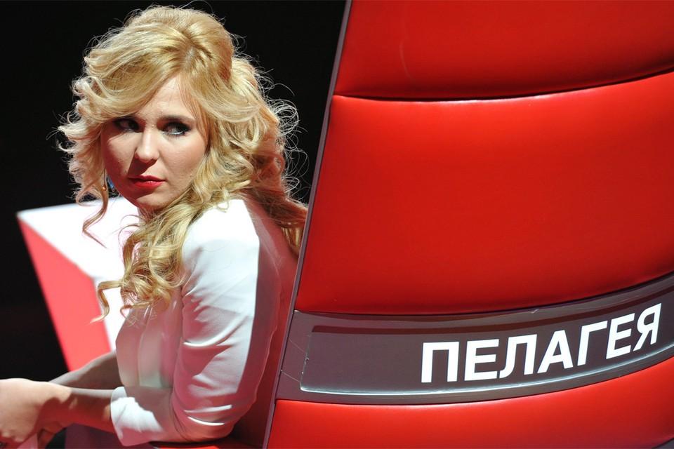 Певица Пелагея.