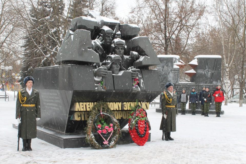 В Твери почтят память танкиста Степана Горобца Фото: администрация Твери