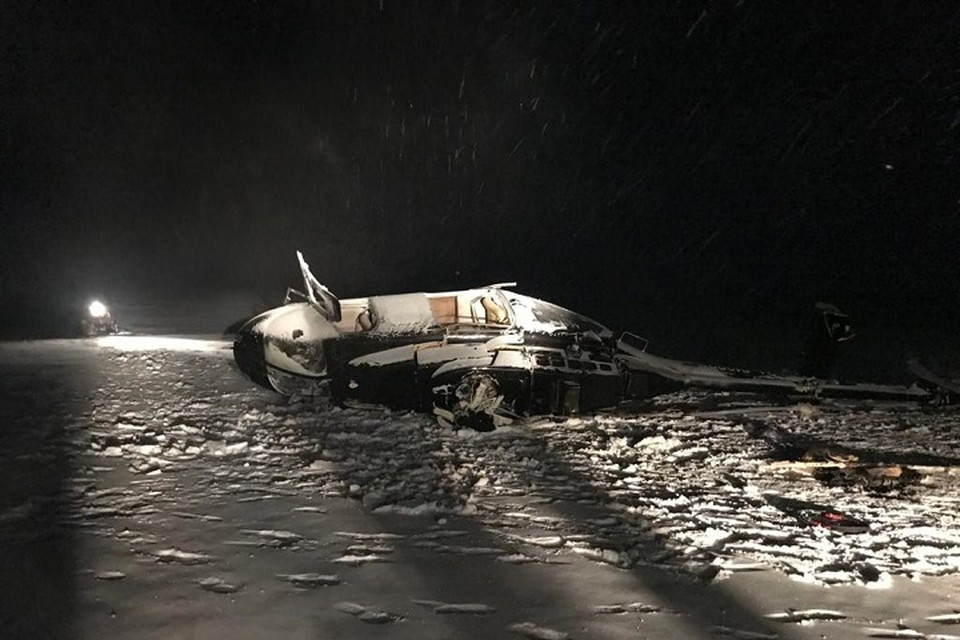 Вертолет с депутатом разбился вечером 7 февраля.
