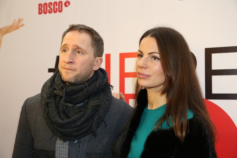 Оскар Кучера вместе с супругой Юлией