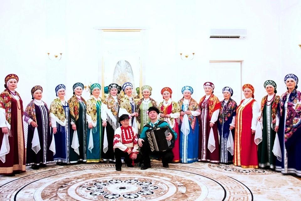 Русский народный хор Заонежские узоры, город Петрозаводск