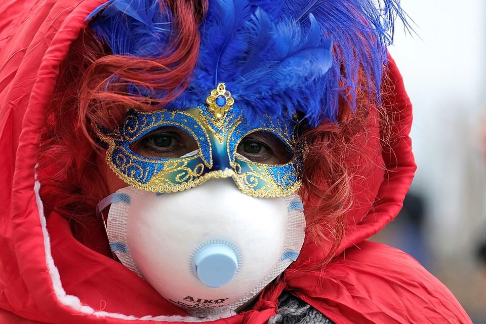 Из-за вируса отменен знаменитый Венецианский карнавал
