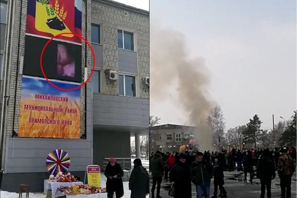 Масленица в Михайловке закончилась гей-порно