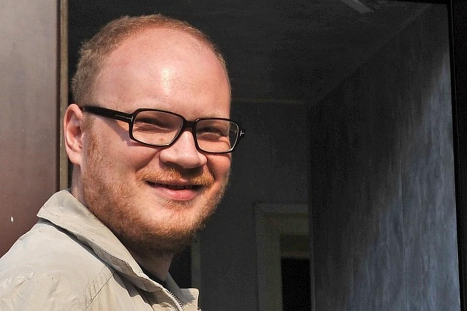 Журналист Олег Кашин. Фото ИТАР-ТАСС/ Митя Алешковский