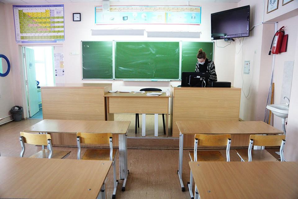 Школьники подмосковья могут не приходить в классы.