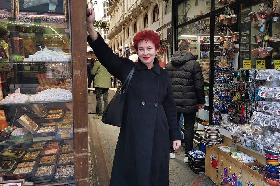 """Журналистка """"Комсомольской правды"""" Дарья Асламова в Турции."""