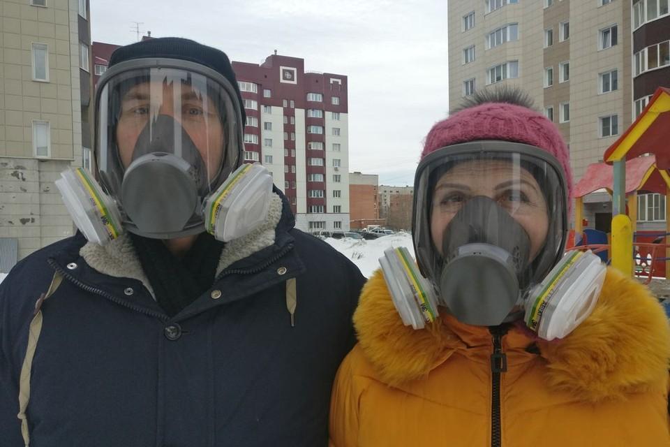 Алексей и Лидия Юша уже готовы к встрече с коронавирусом. Фото: Галина ЮША.