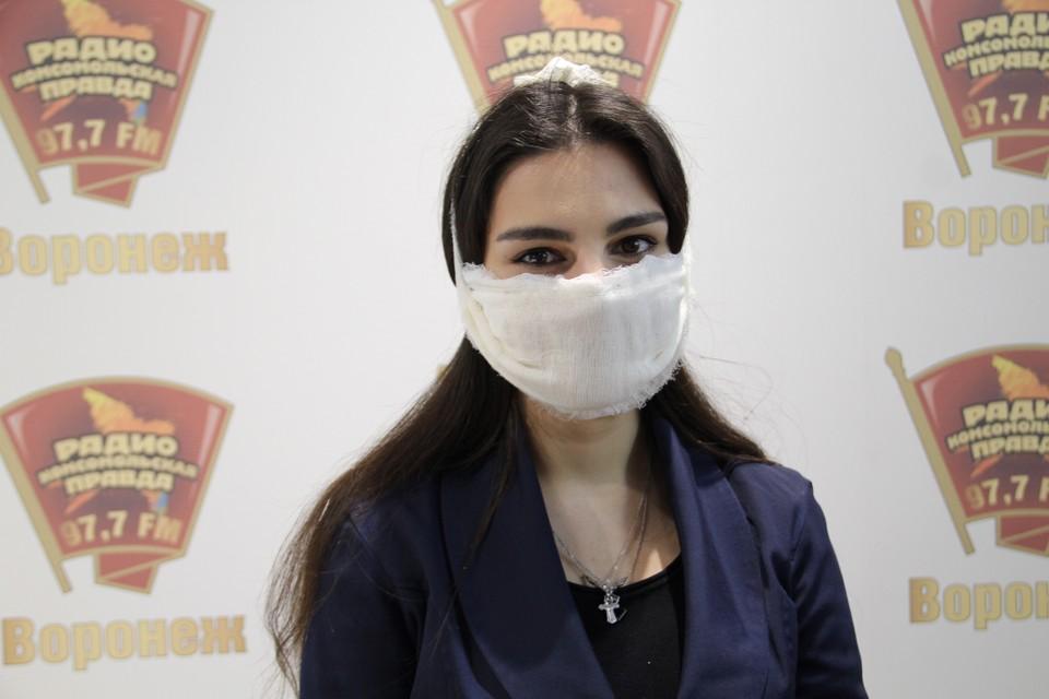 """Марлевая маска от """"КП"""""""