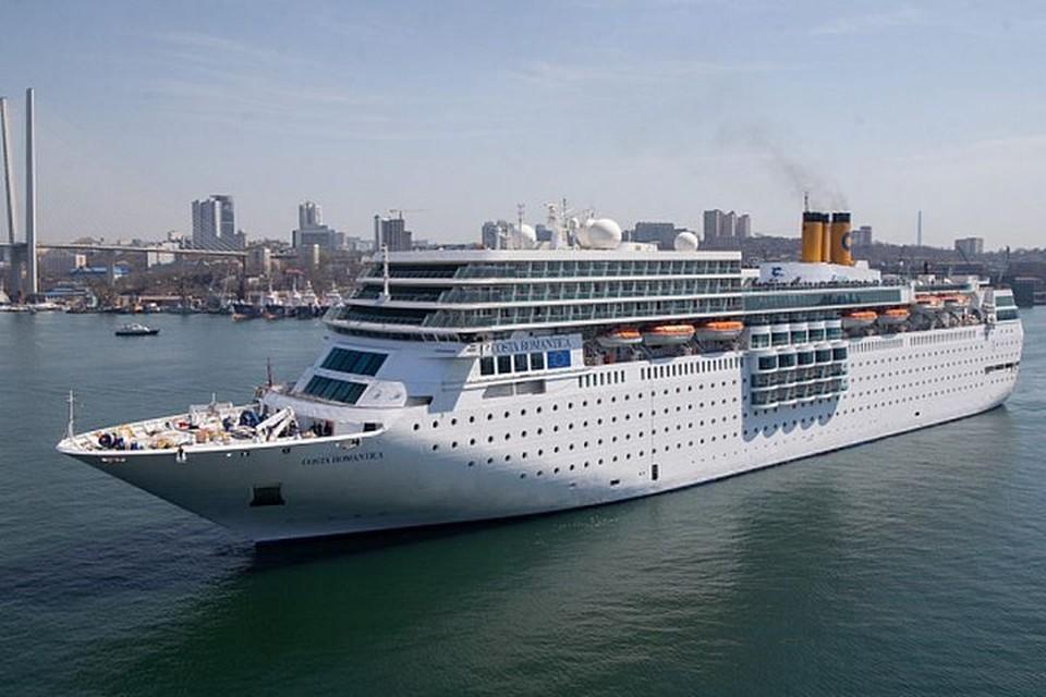 Итальянское судно хочет пришвартоваться во Владивостоке
