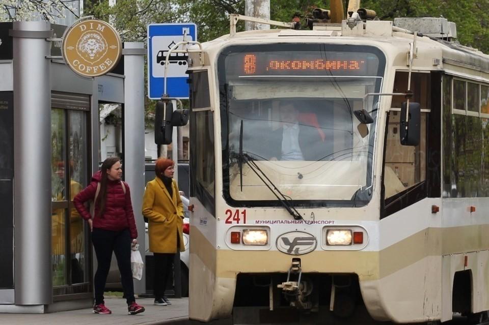 Общественный транспорт тщательно дезинфицируют, чтобы избежать заражения. Фото: krd.ru