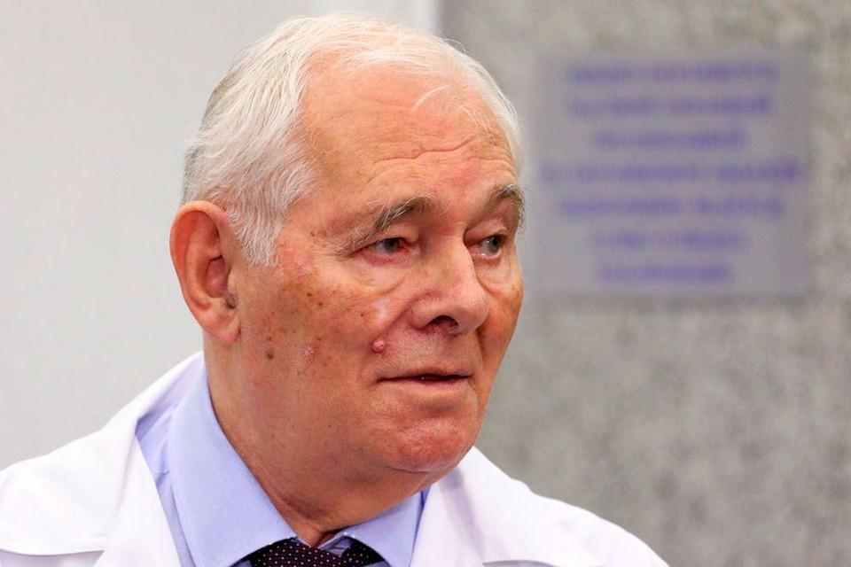 Леонид Рошаль, президент НИИ неотложной детской хирургии и травматологии, президент Национальной медицинской палаты